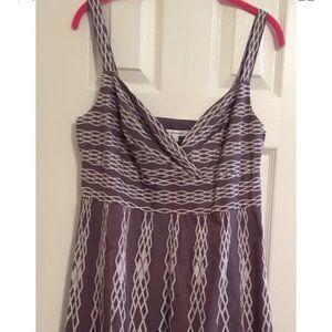 Fabulous LK Bennett gray print dress size 10